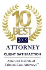 2019 10 Best Criminal Law Attorney