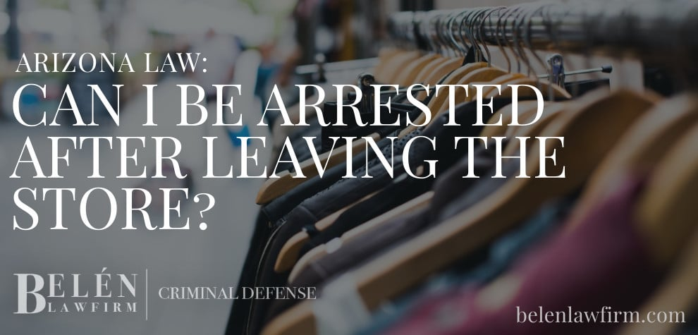 Can I Be Arrested for Shoplifting After Leaving the Store?